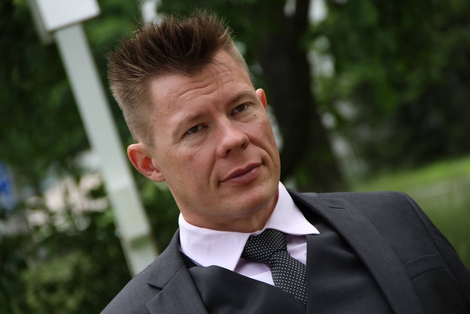 P-C Nordensved, CEO, Fit1 Fitnessclub chain