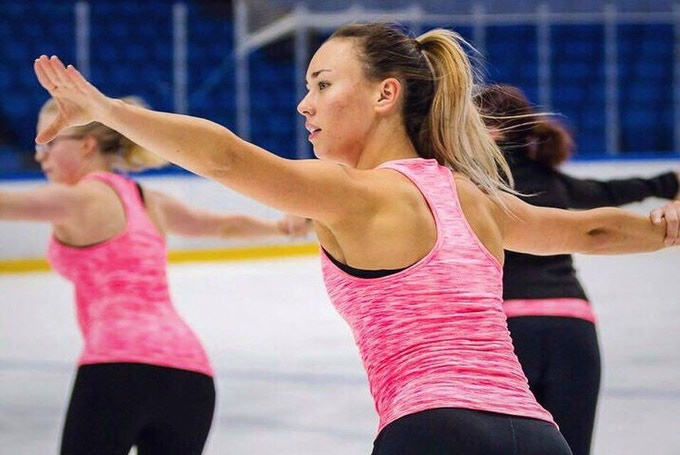 Johanna Nissilä, Figure skater