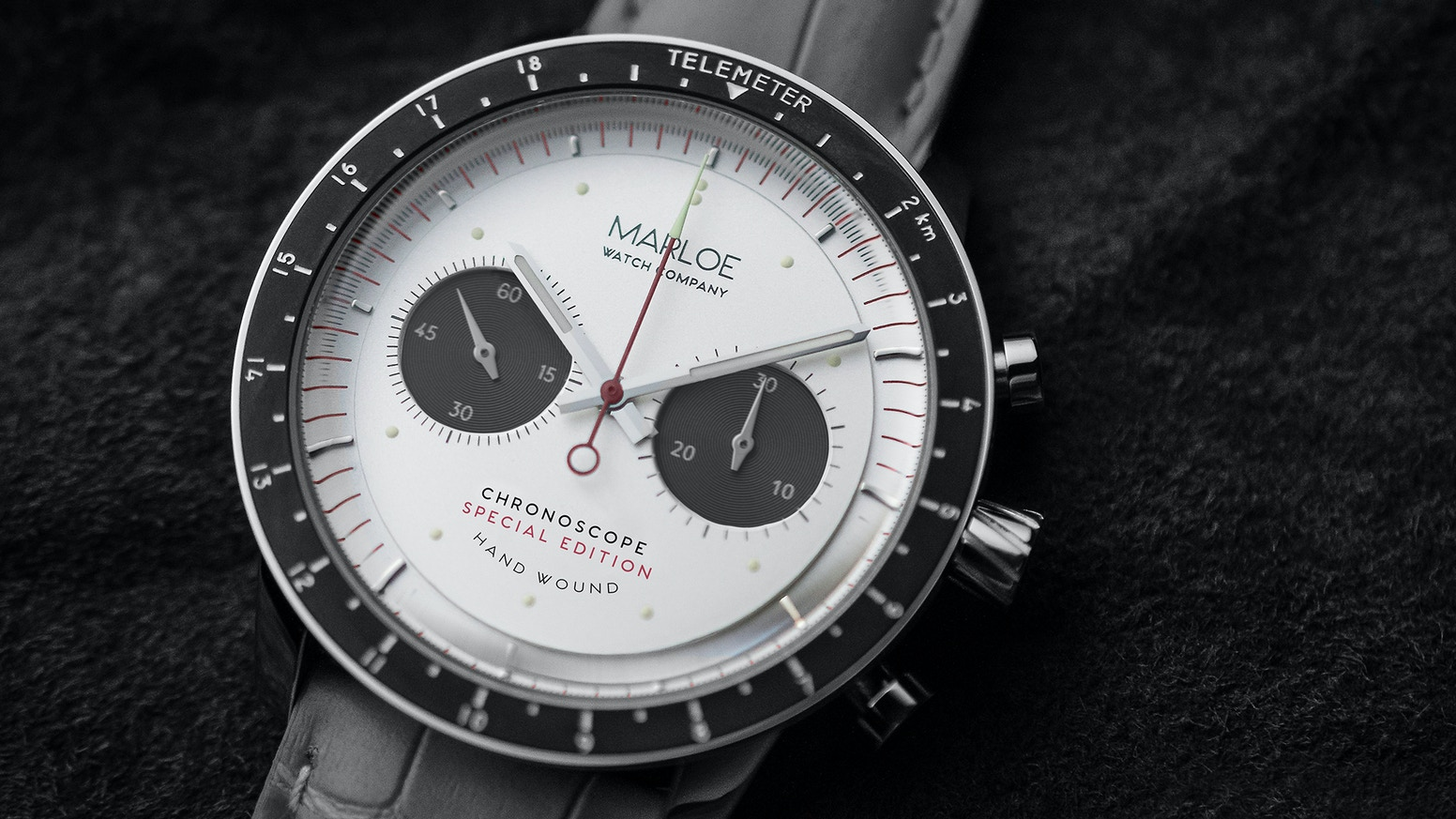 Join the hand-wound revolution! A new manual mechanical watch with exhibition caseback from Marloe Watch Company.