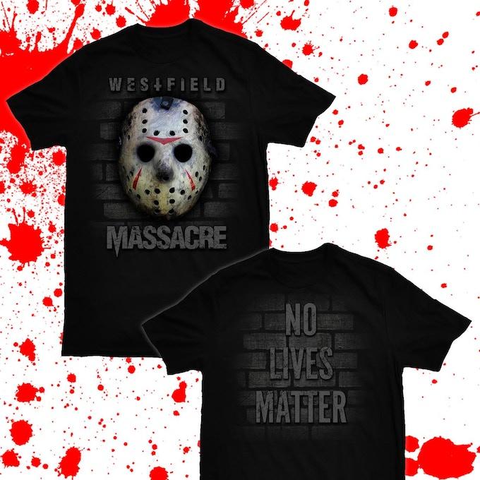 """Exclusive Kickstarter Only """"No Lives Matter"""" T-Shirt"""