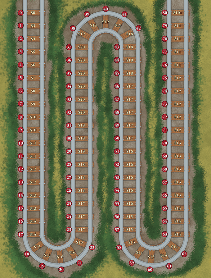 The new score track for Railways of Nippon