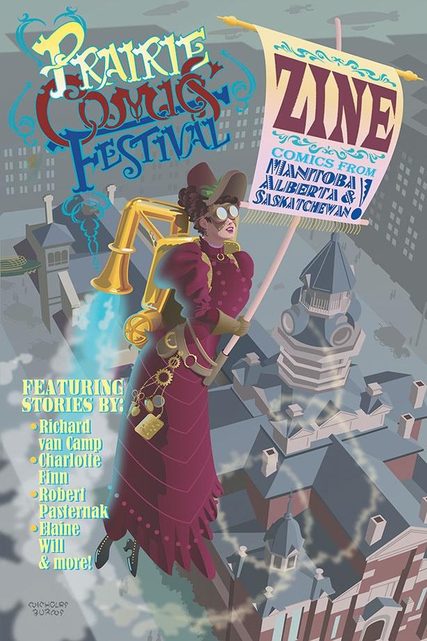 Cover by Nicholas Burns