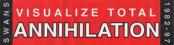Visual Total Annihilation Sticker