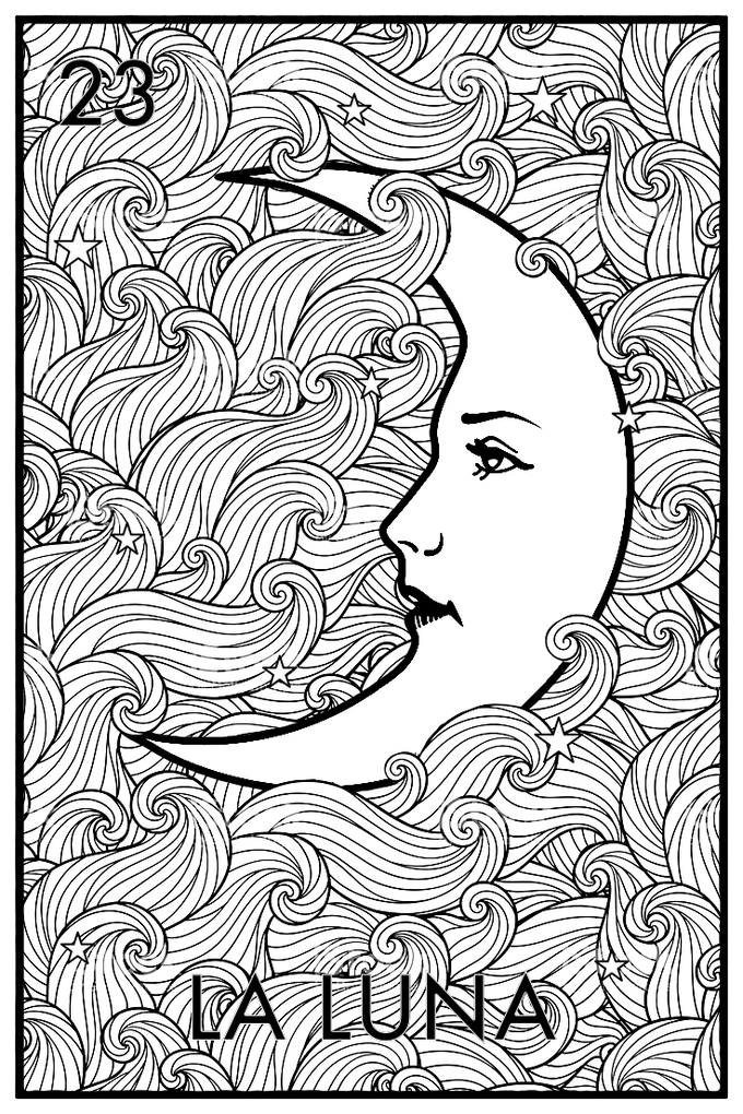 Loter a The Adult Coloring Book