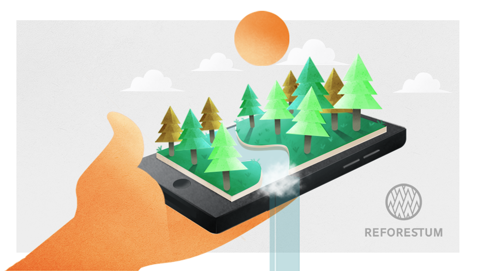 Did you ever want to plant a tree to help make the world a better place? How about planting a whole forest through our App?