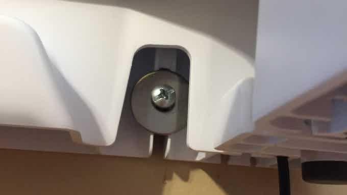 Integrated wall mount feature