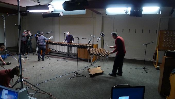 Recording session in progress.