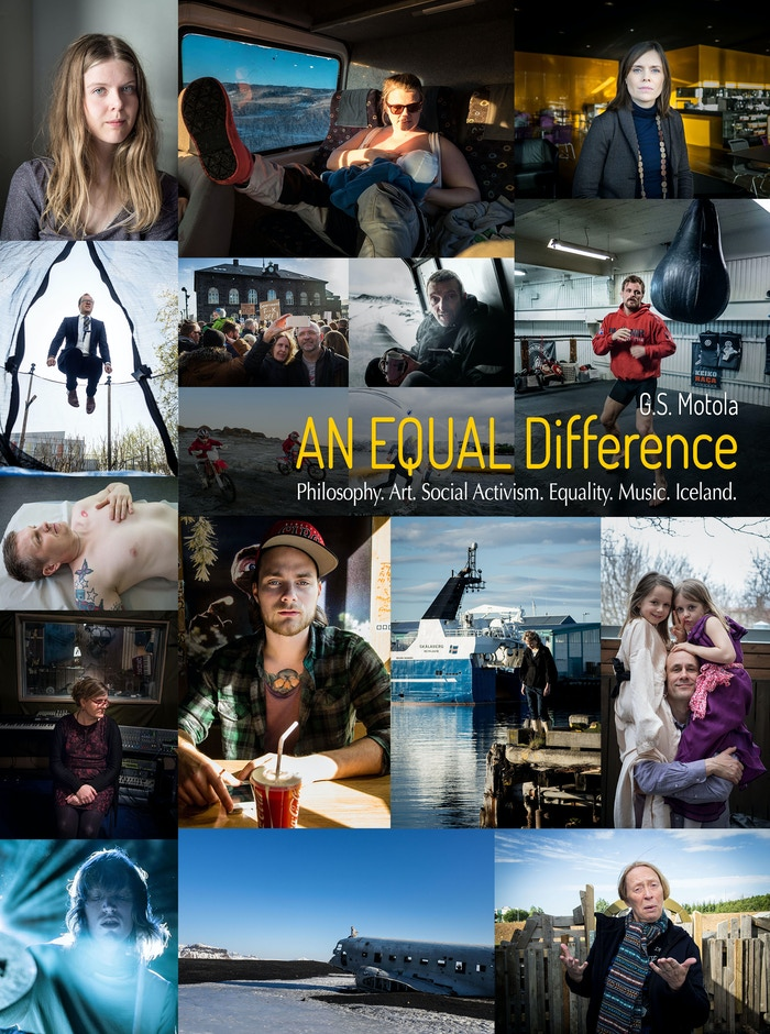 For a world drowning in inequality. A 'photo storybook' of tales and ideas inspired by Iceland, a land of gender equality. Well, almost.