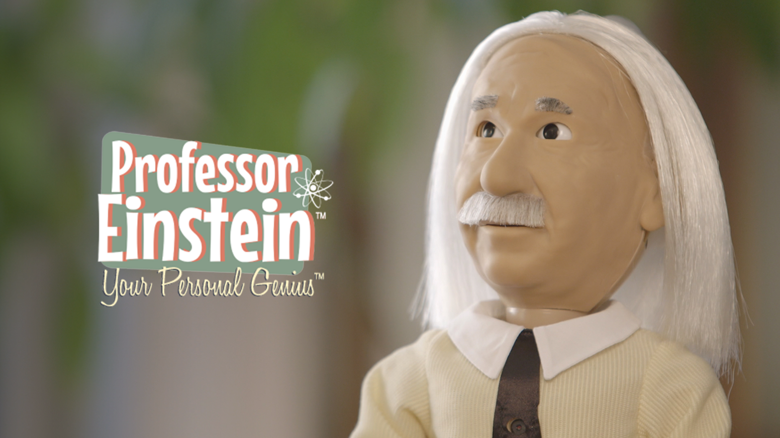 Learn science and play brain-teasing games with the world's first walking, talking, and amazingly expressive Einstein robot