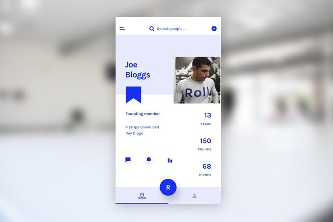 Special edition in-app Kickstarter backer profile design
