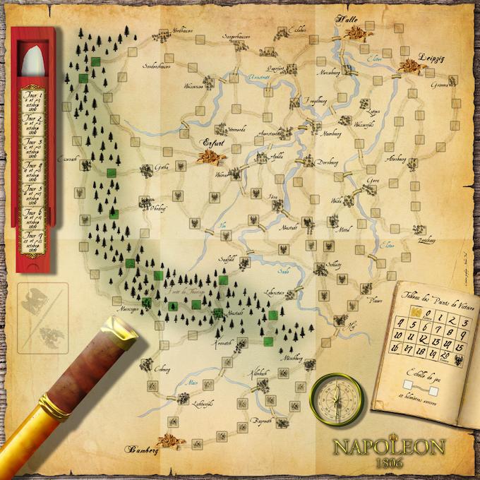 Gameboard - Plateau de jeu