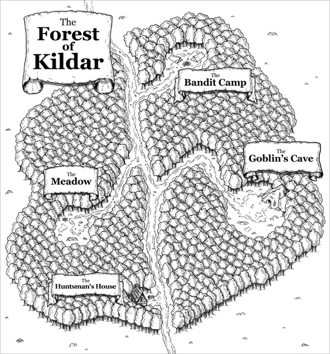 The Forest of Kildar