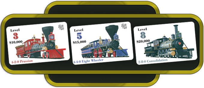 Examples of Train (Engine) Placards