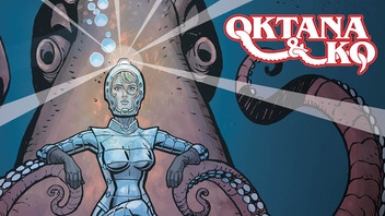 Oktana & Ko #1 - Sci-fi Comic Print Run