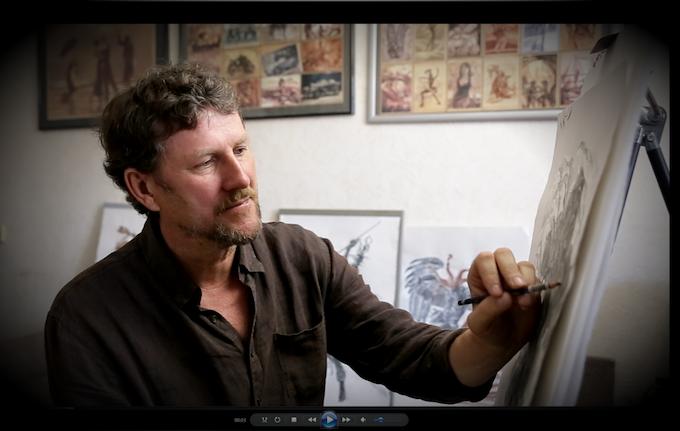 Our artist Oleg Shapkin