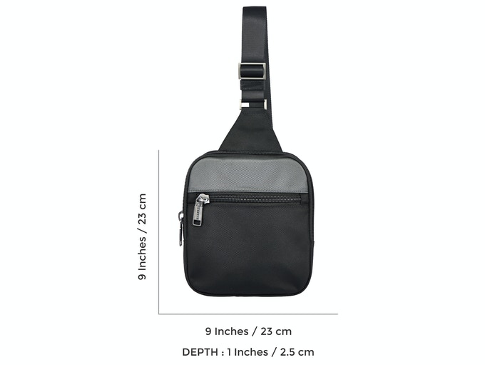 Sling from detachable pocket