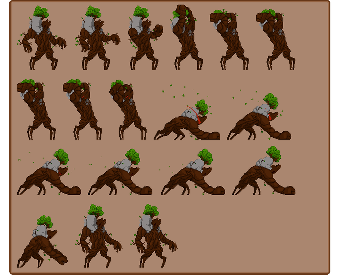 Sprite sheets let us fine tune each frame of animation