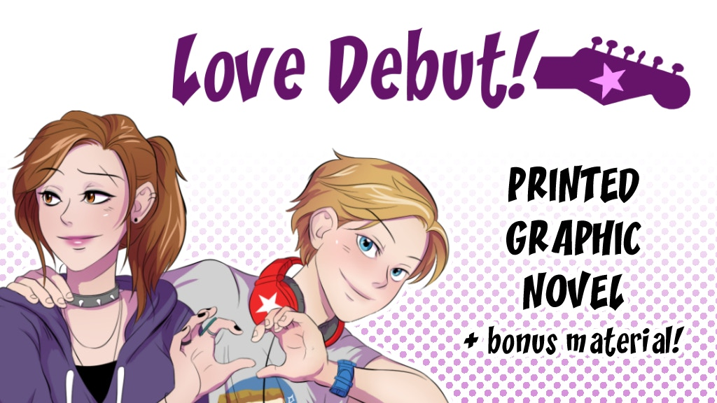 Love Debut! Graphic Novel project video thumbnail