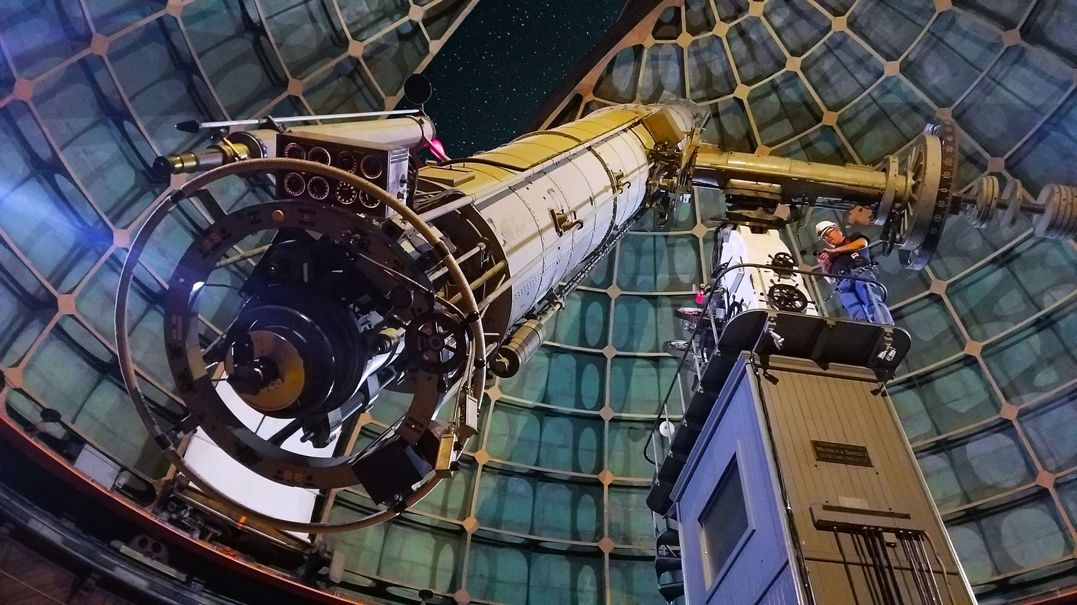 Two astrophotographers use the historic 129 year old Great Lick Refractor to capture the cosmos using modern day techniques