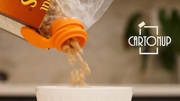 CartonUp: Carton-ize the cereal bag in 10 seconds