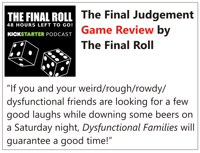 The Final Judgement review on boardgamegeek.com