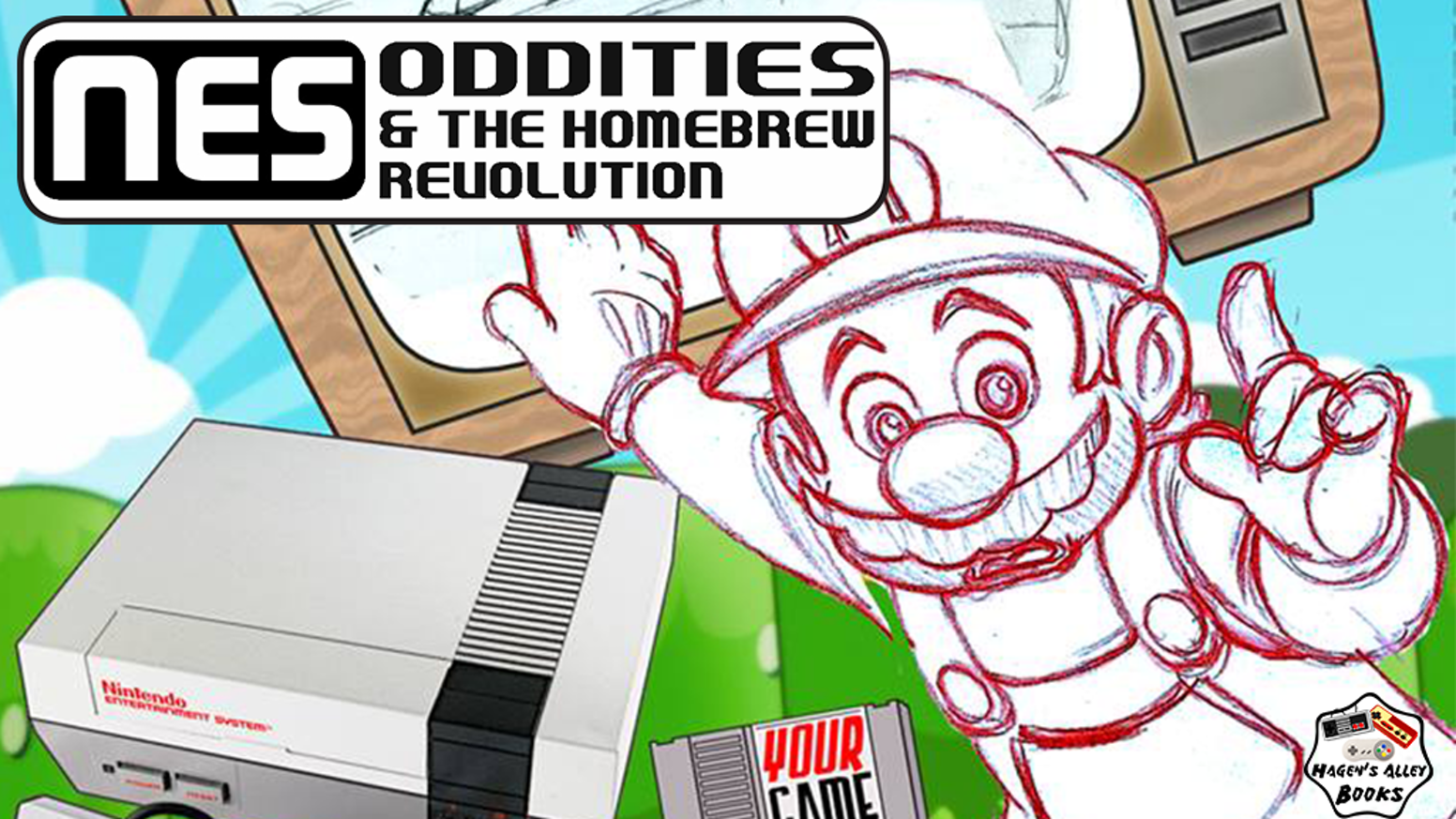 NES Oddities & the Homebrew Revolution and the Nintendo Compendium are brand new books based on the 8-bit Nintendo Entertainment System!