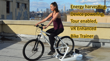 Bike Trainer by ChessFit- The Most Fun You'll Have Biking.