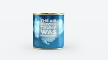 Souvenir can of pre-Trump Air