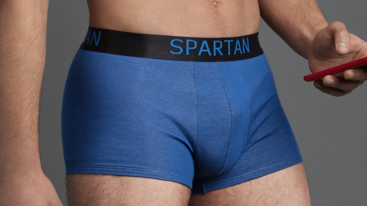 ec1f2fe9d4 SPARTAN is a stylish high-tech boxer that protects your manhood by blocking  cellphone and