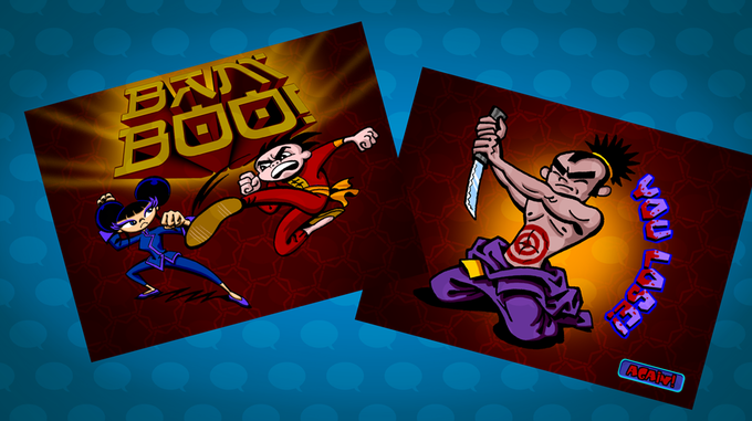Bam-Boo! Multi-player kung-fu card game