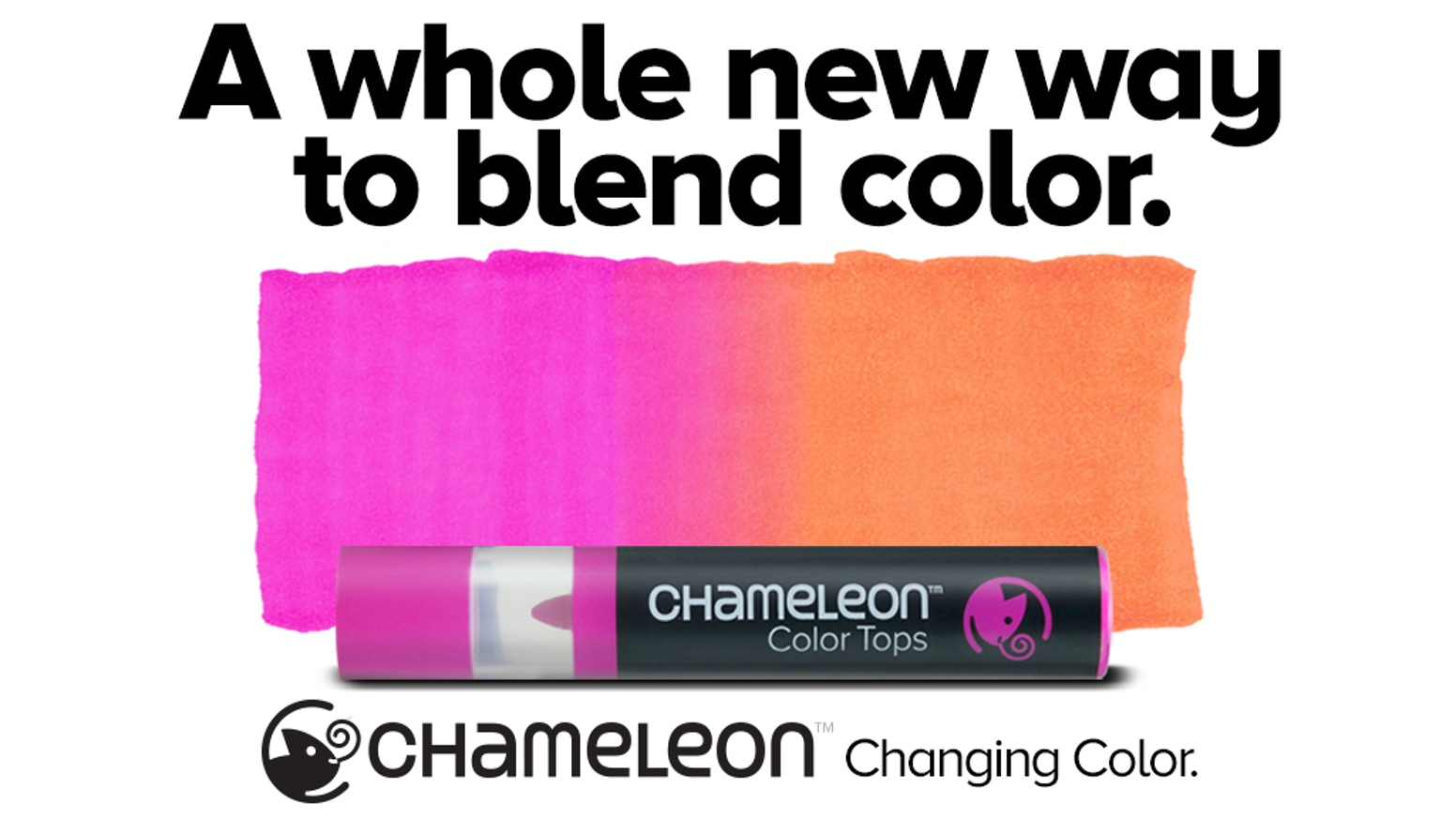 A whole NEW way to blend color! Create simple seamless color to color blends. The pen literally does the blending for you!