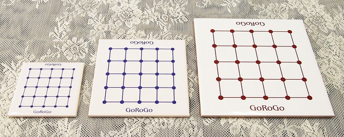 Tile board mini size 4 x 4in, standard size 6 x 6in, large size 8 x 8in