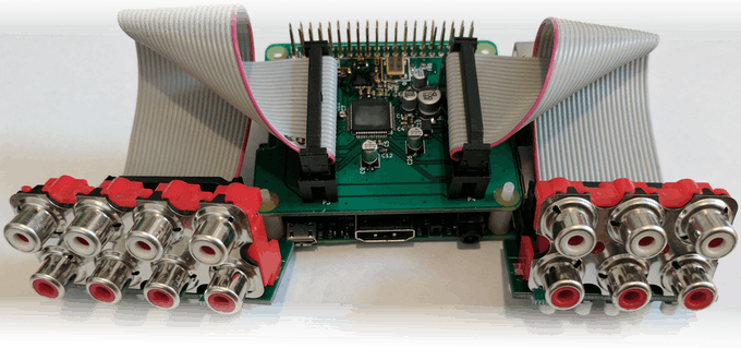Audioinjector Octo sound card - RCA breakout