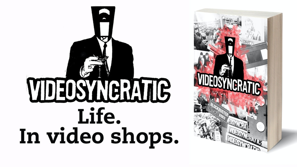 VIDEOSYNCRATIC - a book about life. In video shops. project video thumbnail