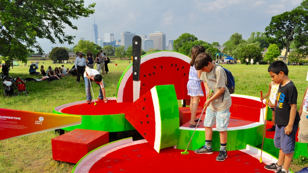 FIGMENT Artist-Designed Minigolf Course on Governors Island project video thumbnail
