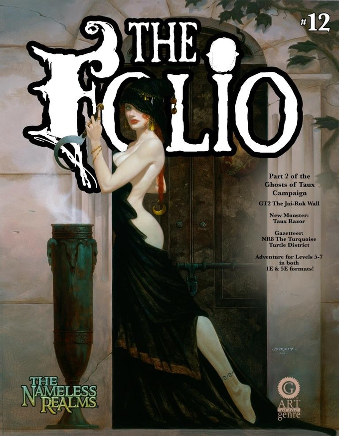 Folio #12 with an incredible Brom cover!