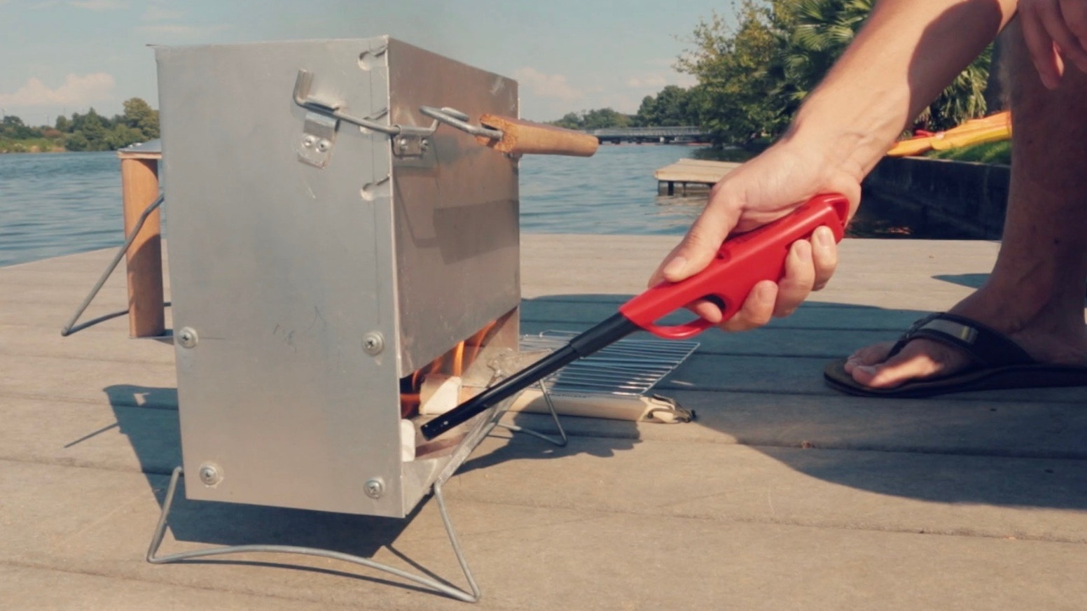 Instagrill Best Charcoal Grill For Easy Grilling By