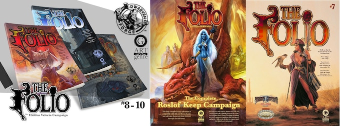 Get all the Folio content from pervious years with the Full Plate Patron pledge level!