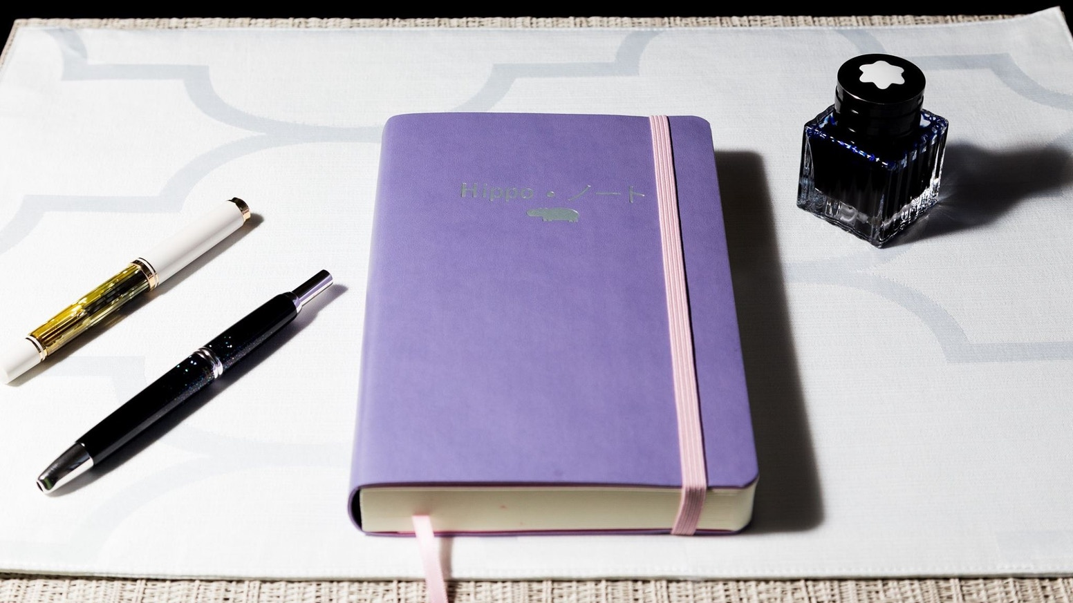 Creating a notebook that brings out the magic in ink.