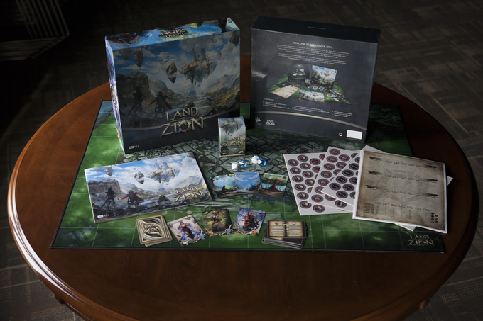 Land of Zion Full Prototype Contents