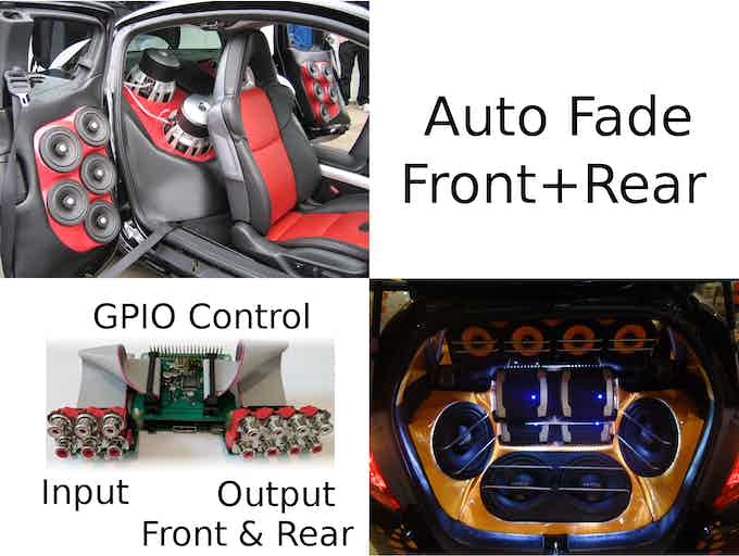 Auto front rear fading using GPIO control (suggested by Paul & inspector71)