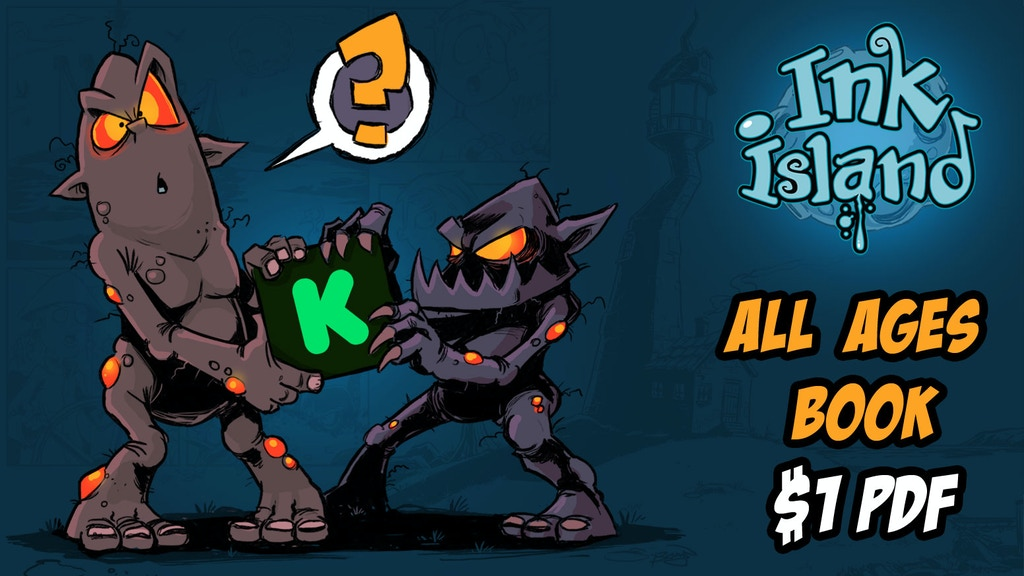 INK ISLAND - all ages one-shot comic + teaching guide project video thumbnail