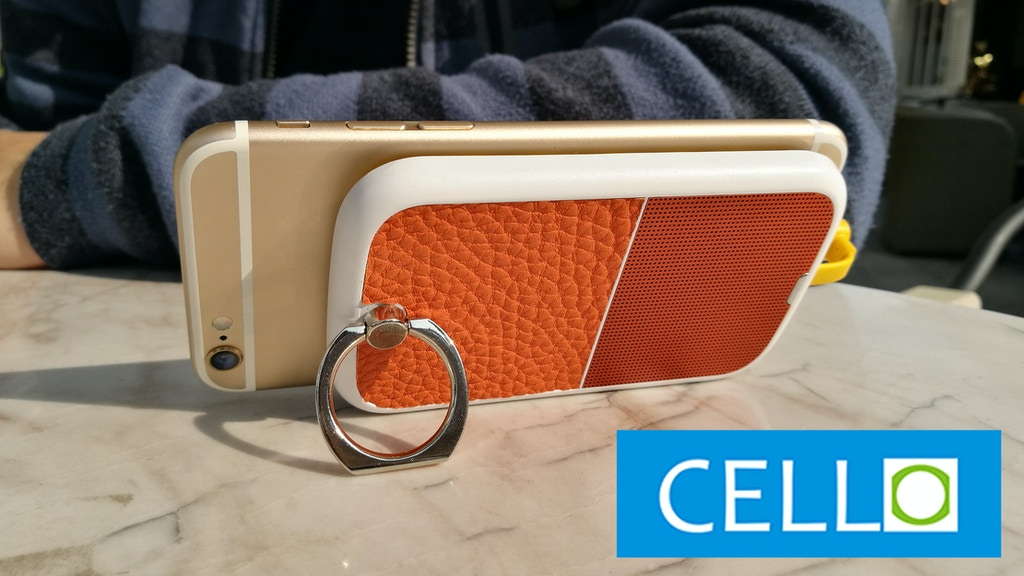 CELLO: A smarter phone battery with security and a kickstand project video thumbnail