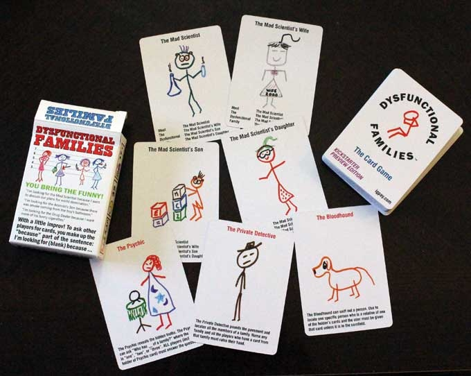 The Dysfunctional Families Card Game