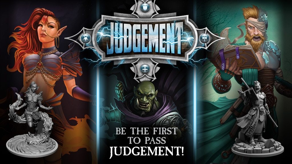 Judgement - a MOBA inspired 54mm miniatures game project video thumbnail