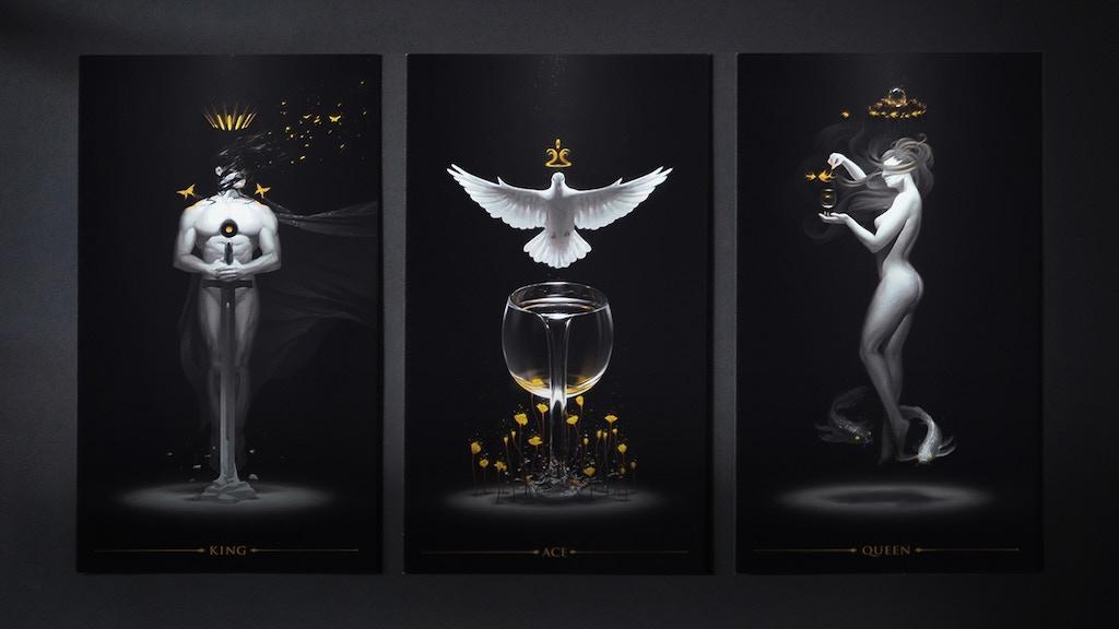True Black Tarot: Art Posters Set 1 by Arthur Wang — Kickstarter