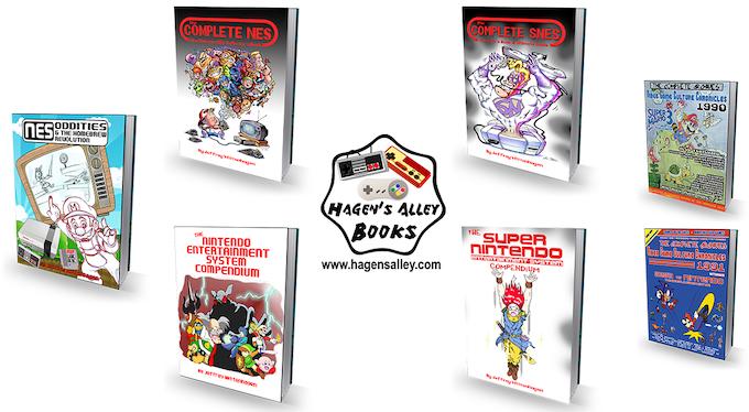 Hagen's Alley Books & Homebrew Games!