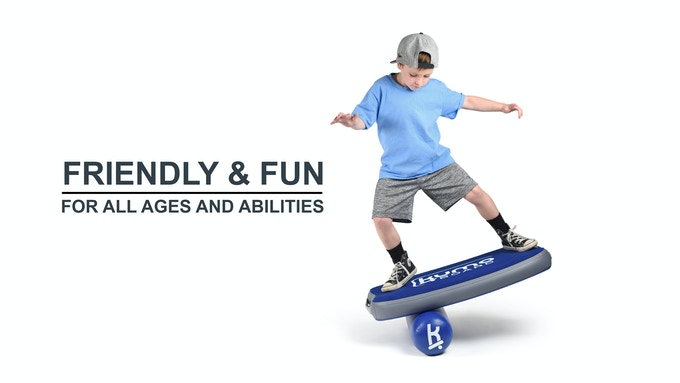 Kumo is the Japanese word for Cloud. Kumo board is soft, like a cloud, making it user-friendly for all ages and ability levels. Ideal for indoor use and rugged enough for use outdoors on any type of smooth surface.