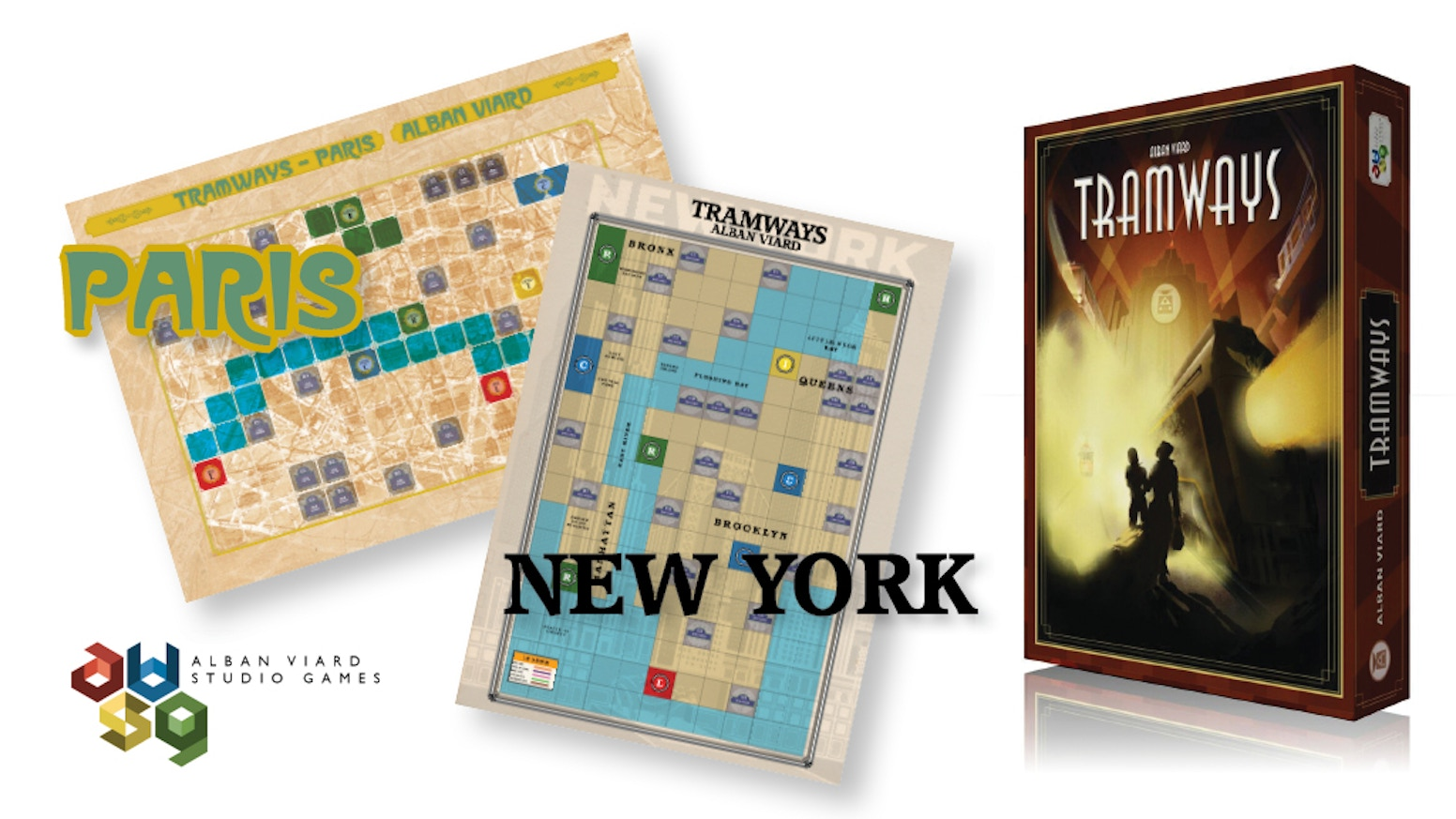 Tramways: Paris / New York, build the trams and stay happy! by AV