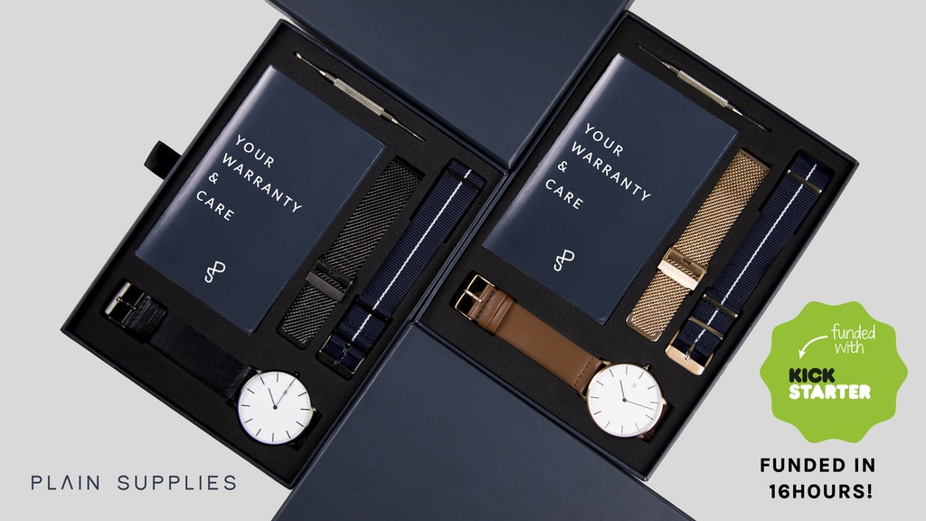 The Everyday Watch – 3 Interchangeable Straps without Markup project video thumbnail